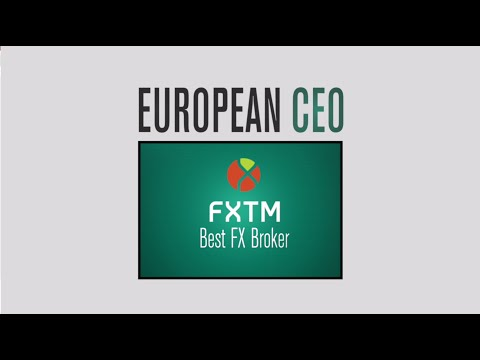 European CEO awards FXTM 'BEST FX BROKER' 2016