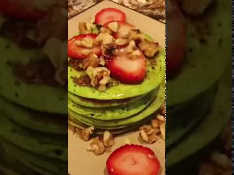 SPINACH PANCAKES| recipe is written below