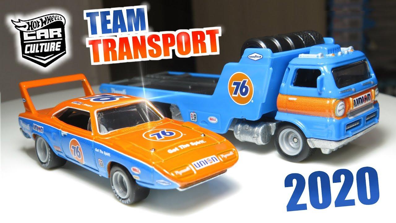 HOT WHEELS 2020 CAR CULTURE TEAM TRANSPORT /'70 PLYMOUTH SUPERBIRD /& WIDE OPEN