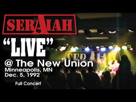 "SERAIAH - ""Live"" @ The New Union, Minneapolis, MN 1992 (Full concert)"