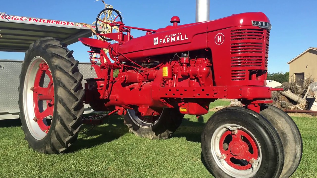 dating my farmall h Joe's farmall m site me cutting brush with the farmall m and a bush hog squealer my farmall m is a 1949 model and in decent condition for its age.