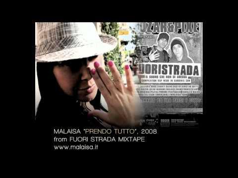 MALAISA - PRENDO TUTTO - female rap artist - from Fuori Strada Mixtape, 2008