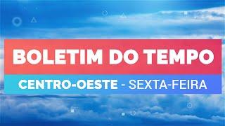Previsão Centro-Oeste - Volta a chover em Brasília