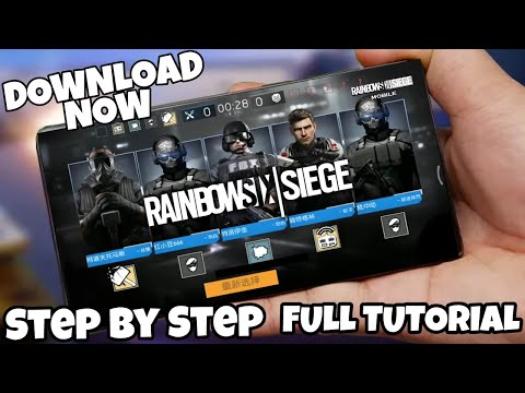 Download Rainbow's Six Siege On Your Android Step By Step Full Tutorial In Hindi
