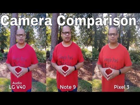 LG V40 Vs Pixel 3 Vs Note 9 Camera Comparison   DAYTIME ONLY   SHOCKING RESULTS !!!