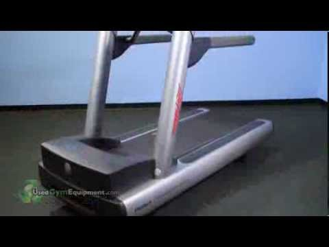 Used Life Fitness 97Ti Treadmill - Integrity Colors Remanufactured Gym Equipment For Sale