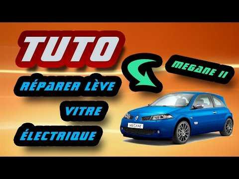 TUTO réparer lève vitre électrique Renault Mégane II (how to fix your window fault) HD