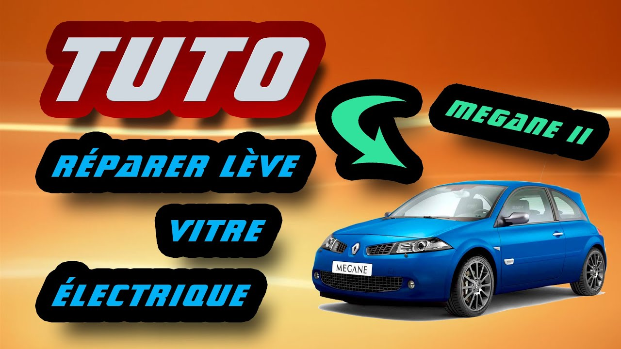 tuto r parer l ve vitre lectrique renault m gane ii how to fix your window fault hd youtube. Black Bedroom Furniture Sets. Home Design Ideas