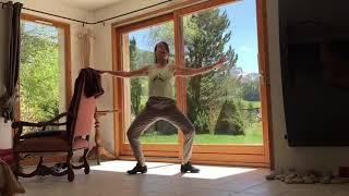Exercice danse classique, les pliés