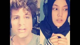 Charlie puth feat Shila Amzah - we dont talk anymore (smule)