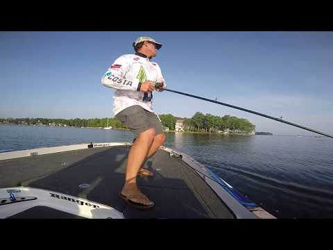 Justin Atkins' Winning Day on Lake Murray at the Forrest Wood Cup