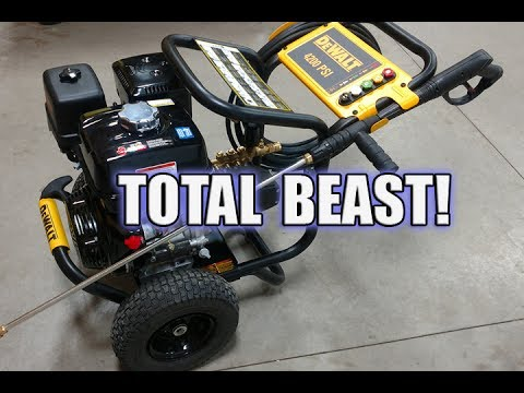 DEWALT 4200 PSI 4.0 GPM Direct Drive Pressure Washer Review | DXPW4240