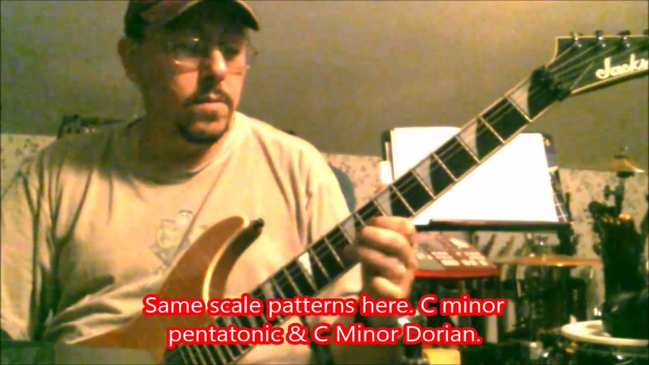 C Minor Reverse Power Chords Youtube