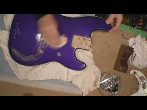 Fender P Bass DNA Removal