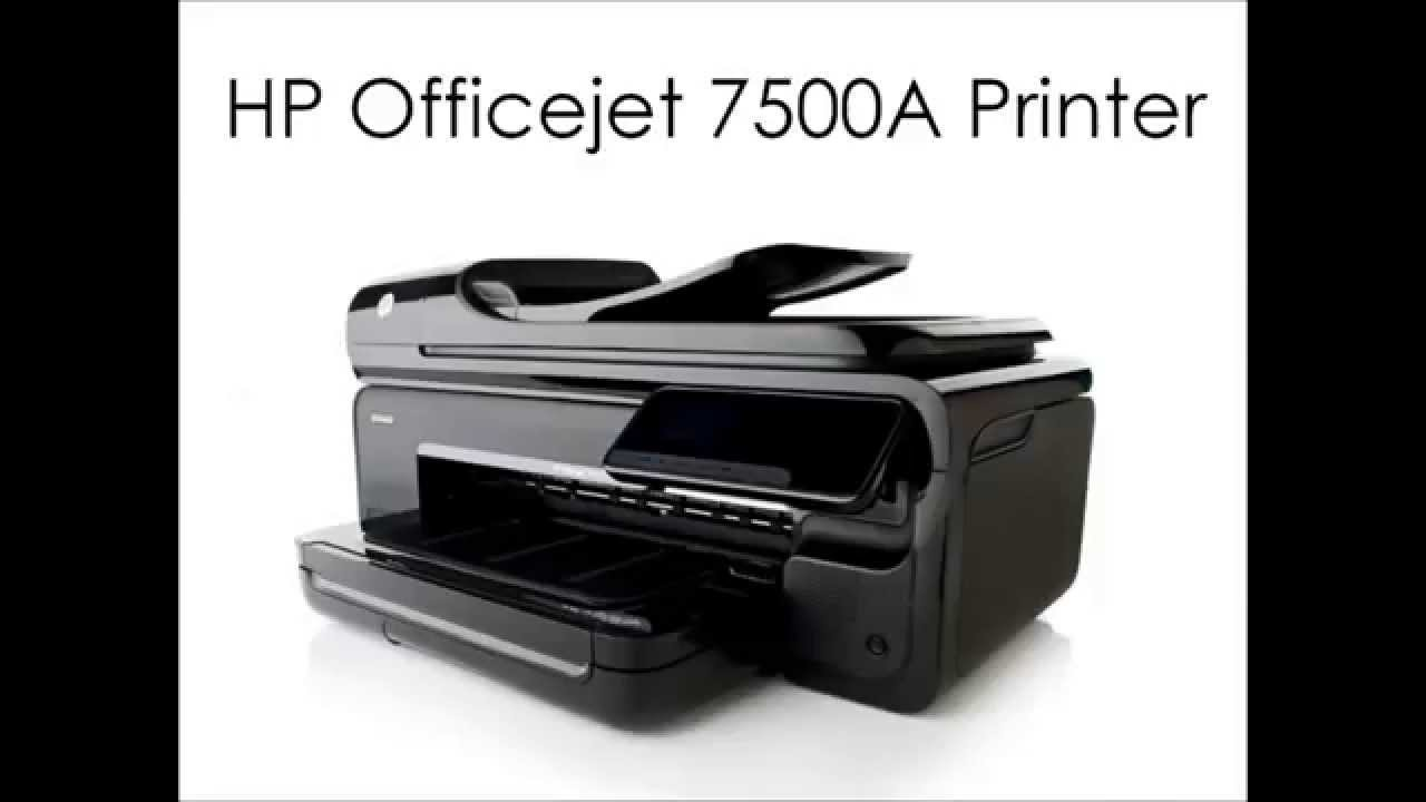 Hp Officejet 7500a Printer