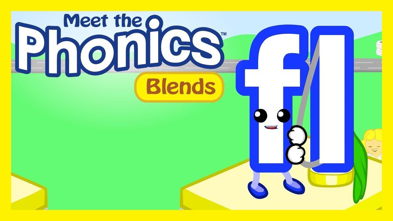 Meet the Phonics Blends - fl Kindergarten Cl Videos on