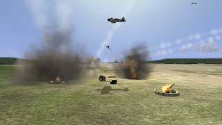 IL-2 1946: Corsair attack from the AAA gunners' perspectives