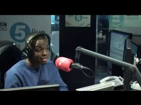 George The Poet: Image of the black male is 'very manufactured'