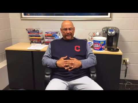 Indians manager Terry Francona addresses player protests
