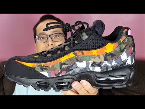 promo code fb756 3f28a Are These Really Worth Their Price?! Nike Air Max 95 ERDL Party Camo Black  Review!