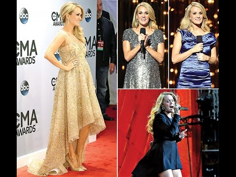 Carrie Underwood's Pregnancy Style