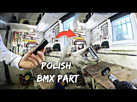 DIY: Chrome ton bmx ! Polishing Bmx part