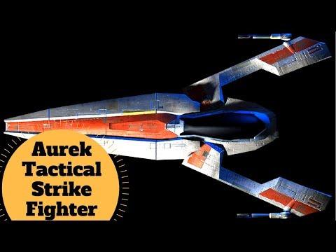 Sleek, Fast, Powerful - Aurek-class Tactical Strikefighter - Old Republic Starfighter Ship Lore