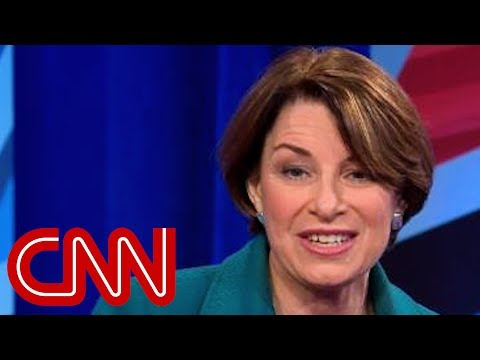 This is the question Amy Klobuchar says shed ask Trump