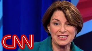 This is the question Amy Klobuchar says she