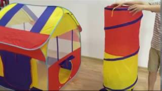 How To Fold Playhouse with Tunnel by Utex For Toys