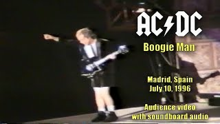 AC/DC- Boogie Man [Live in Madrid, Spain, July 10, 1996] (Audience video w/ soundboard audio)