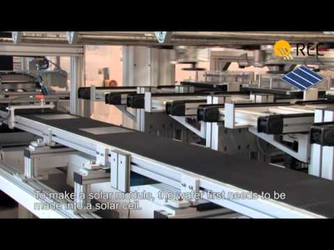How REC solar pv panels are made