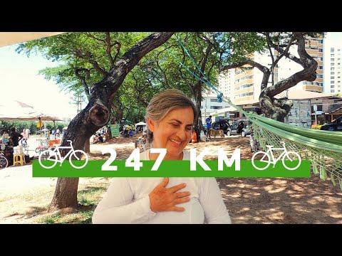 Aprendi com 57 anos e pedalei 247 km