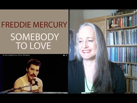 Voice Teacher Reaction Freddie Mercury | Somebody to Love 1981 Montreal