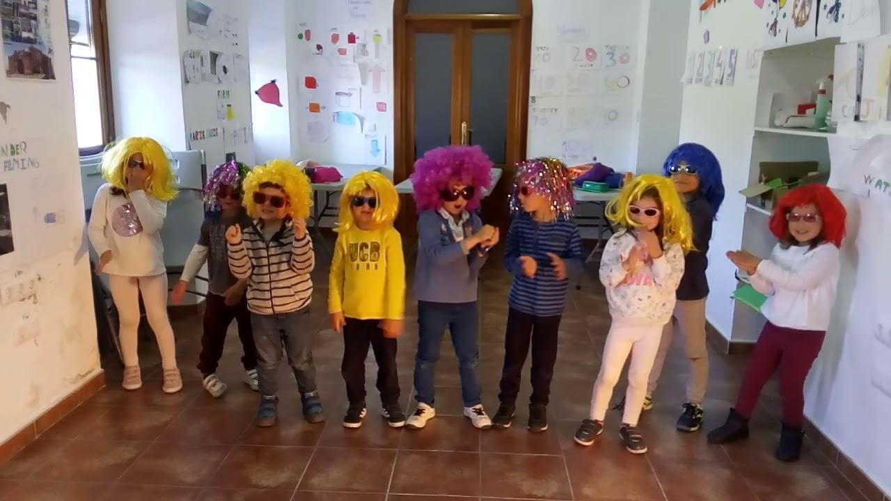 Child Chorus. Infantil Valencia del Ventoso. Baby Shark
