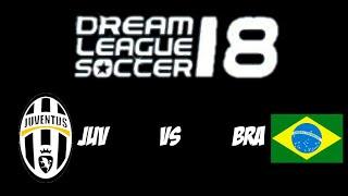 A grande final no Dream League Soccer contra a Juventus
