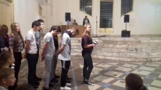 Танец отряда дсол за нами едут полицаи