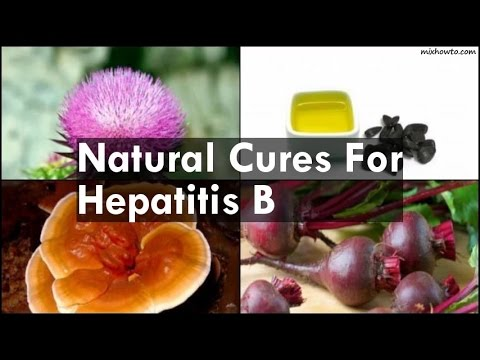 Natural Cures For Hepatitis B