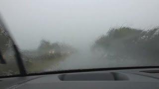 2012 Citroen DS5 THP 200 SportChic Geschwindigkeitstest Regen [9/9]