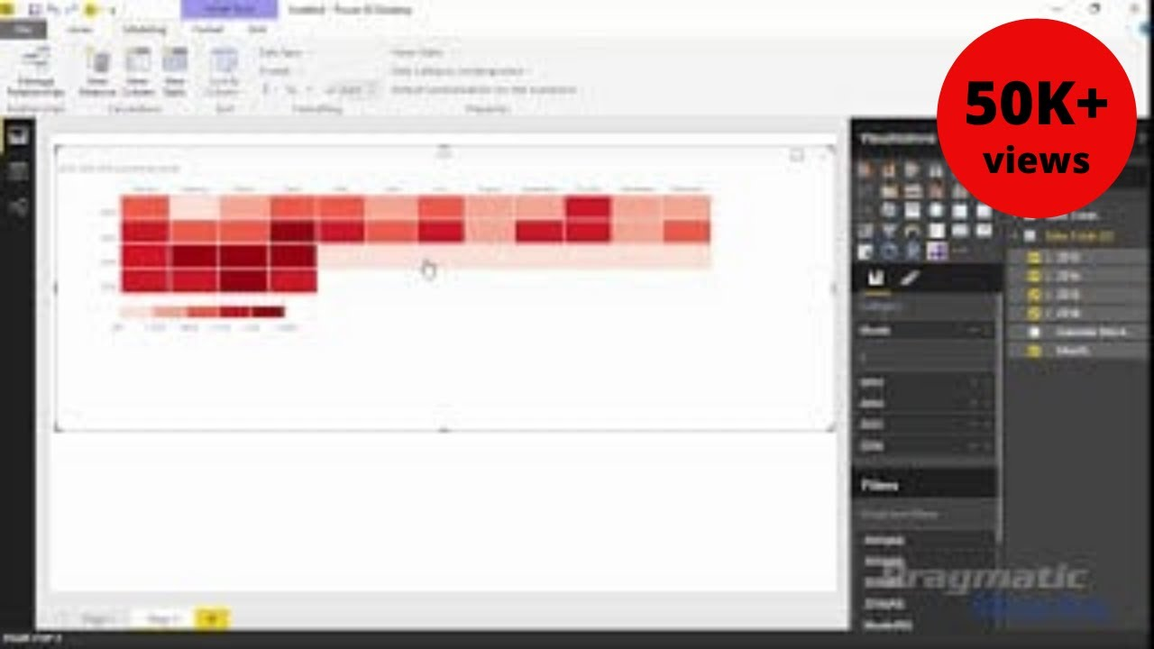 Power BI Custom Visuals - Table Heatmap