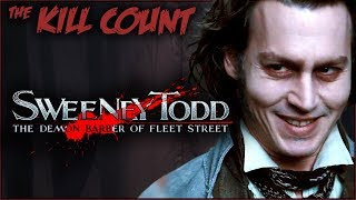 Sweeney Todd: The Demon Barber of Fleet Street (2007) KILL COUNT