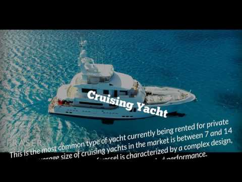 Type of Yacht: Guide to Different Types of Yacht to Charter