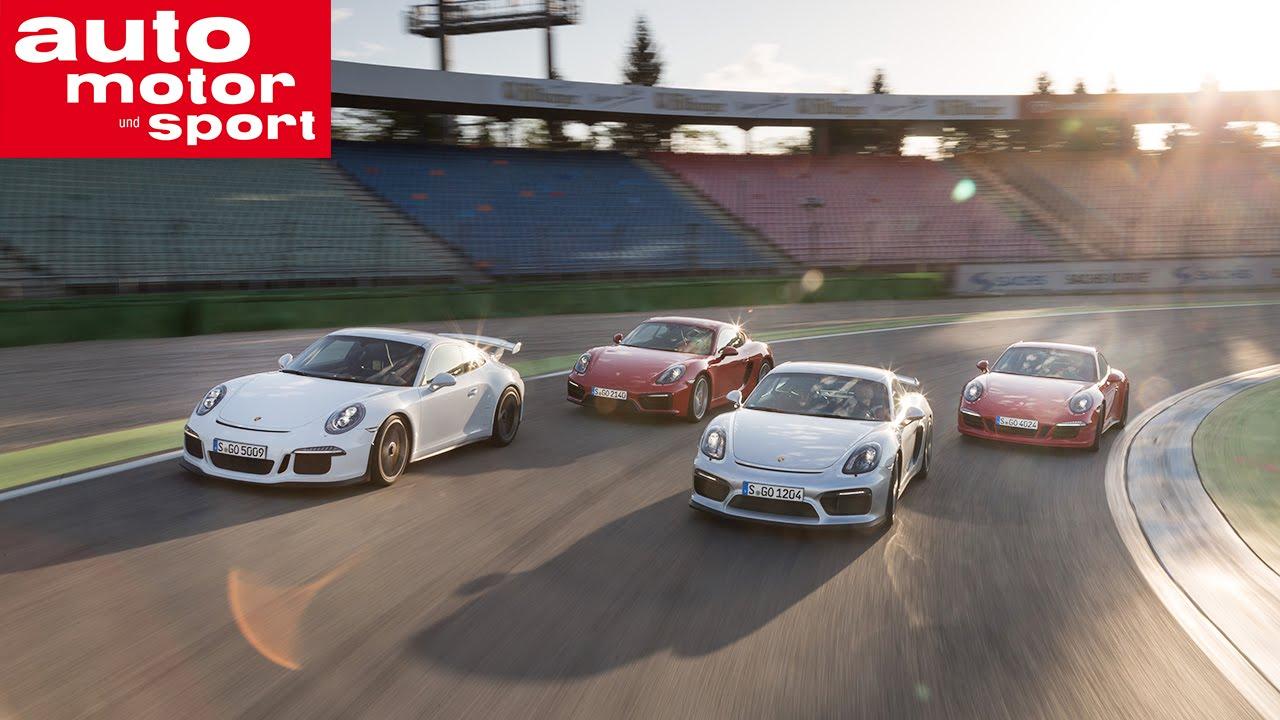 Konzeptvergleich Porsche Cayman GT4
