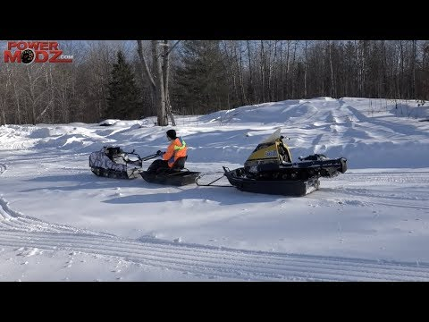 THE SNOWDOG IS AWESOME!  INTRO AND HOW TO RIDE!