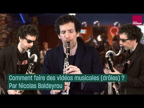 Comment faire des vidéos musicales (drôles) ? Par Nicolas Baldeyrou - #CulturePrime