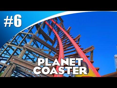 MIJN EIGEN ACHTBAAN BOUWEN! (Planet Coaster #6)