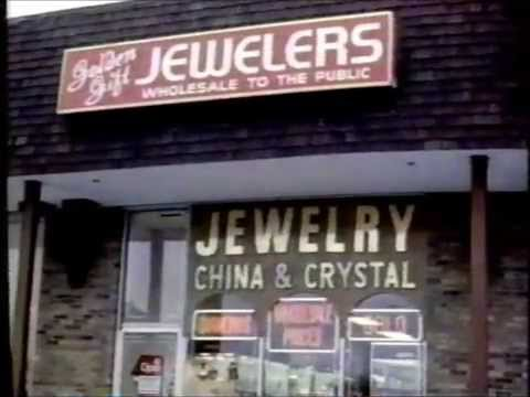 1986 Golden Gift Jewelers Commercial: Livonia, Michigan