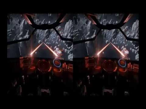 Elite Dangerous : Top Shift 39 - Oculus Thrift - Google Cardboard and Trinus Gyre