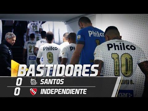 Santos 0 x 0 Independiente | BASTIDORES | Libertadores (28/08/18)