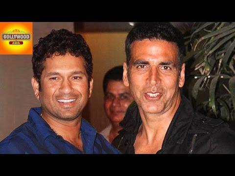 Sachin Tendulkar MAKES Akshay Kumar...